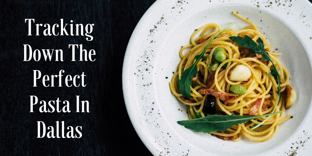 October is National Pasta Month! Pasta is quite possibly the pefect food - with many different types, flavors, and cooking techniques that appeal to just about about everyone! In honer of pasta month, here are our 5 favorite places for pasta in Dallas!